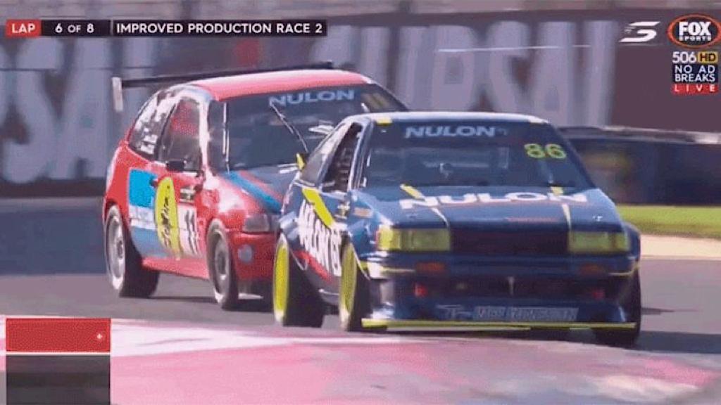 Improved Production : Battle à Adelaide - Civic EG vs Toyota AE86 17