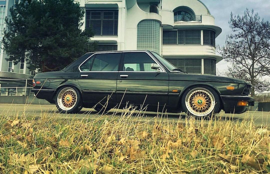BMW 525E E28 BBS - Basic Static ! 29