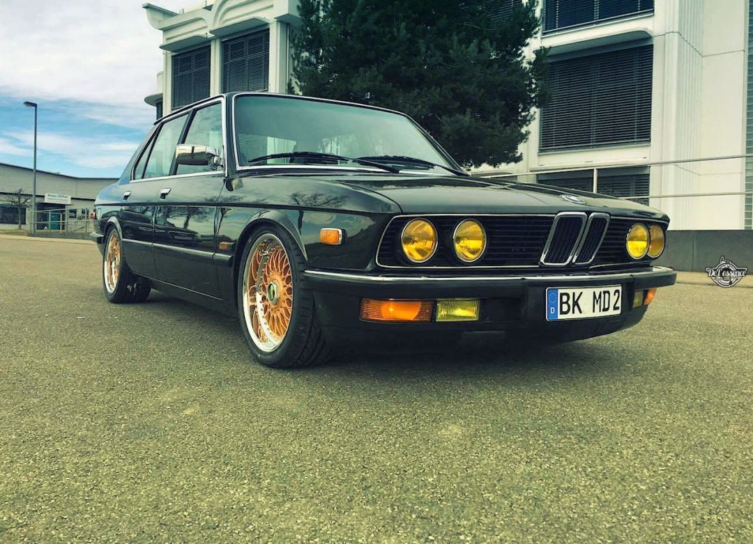 BMW 525E E28 BBS - Basic Static ! 28