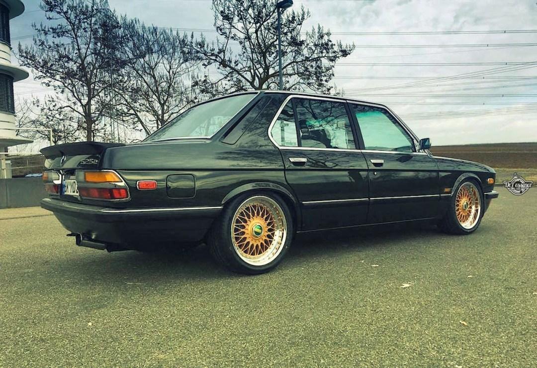 BMW 525E E28 BBS - Basic Static ! 26