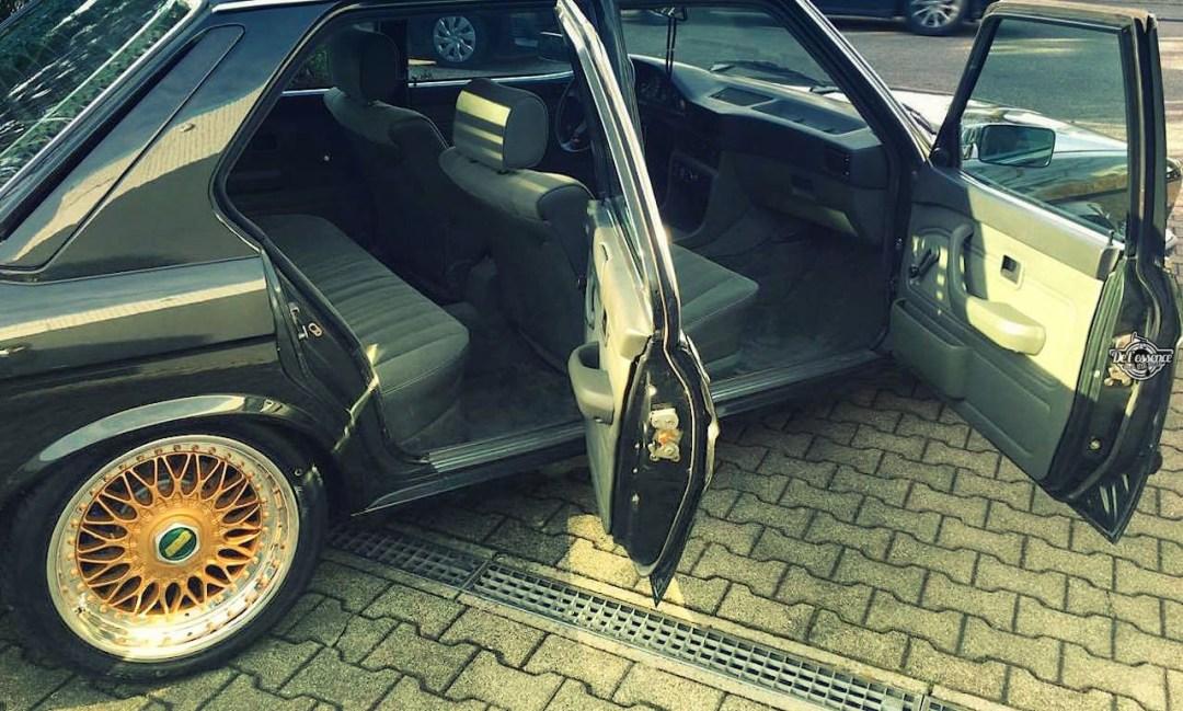 BMW 525E E28 BBS - Basic Static ! 23