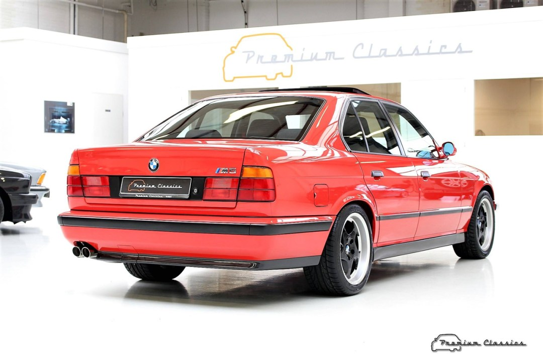 BMW M5 20 Jahre - La plus rare, la plus désirable ?! 88
