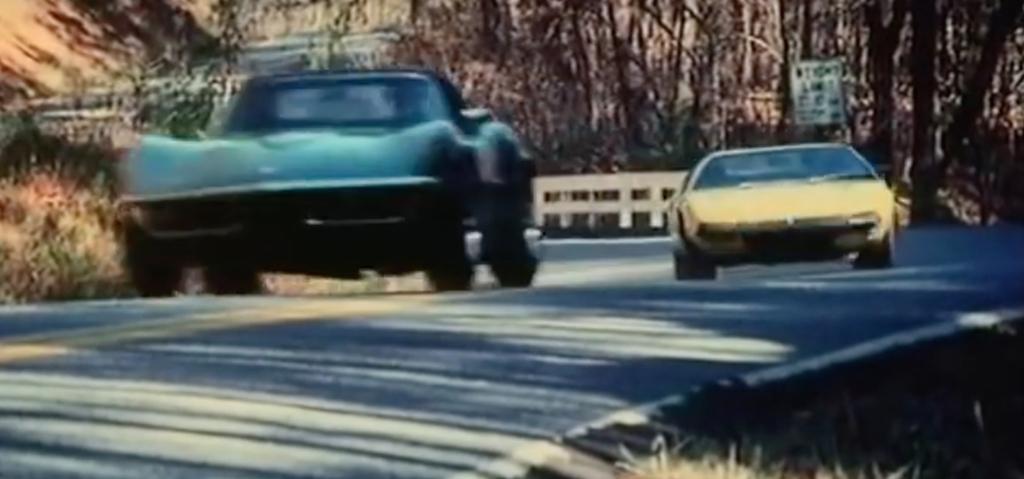 """Challenge"" : De Tomaso Pantera vs Chevrolet Corvette... 5"