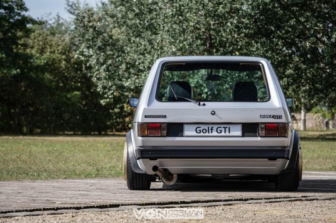 Golf 1 GTI... en zero lip ! 31