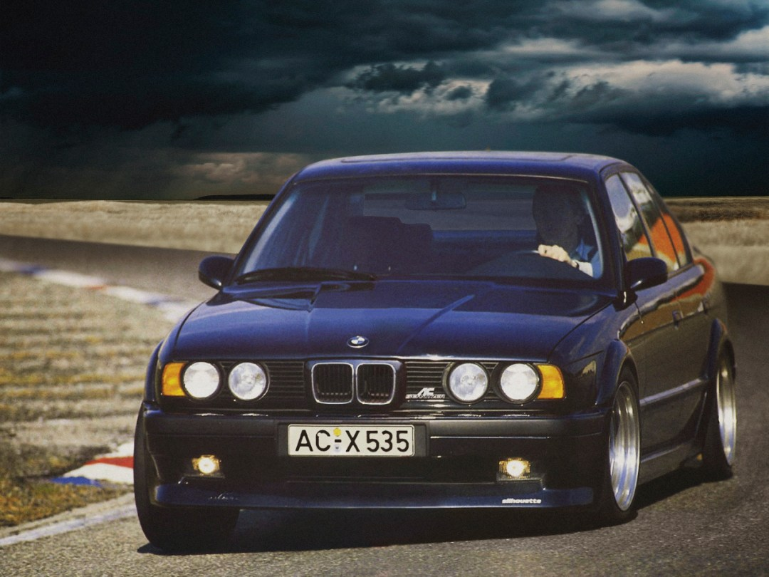 BMW E34 AC Schnitzer S5 Silhouette... Tuning de jackos ! 15