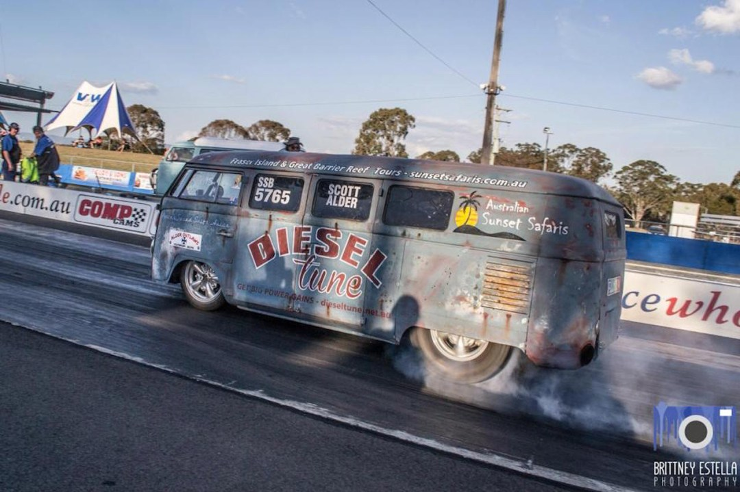 VW combi by Alder Outlaws - Crazy wheels ! 17