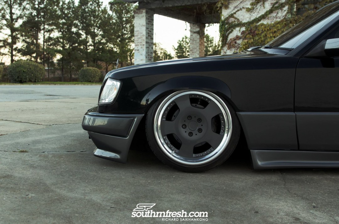 Bagged Mercedes 300TE-24 : Air-moire normande ! 20