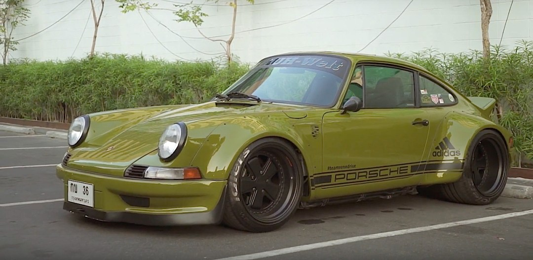 Porsche 964 RWB Thailand... La grenouille ! 14