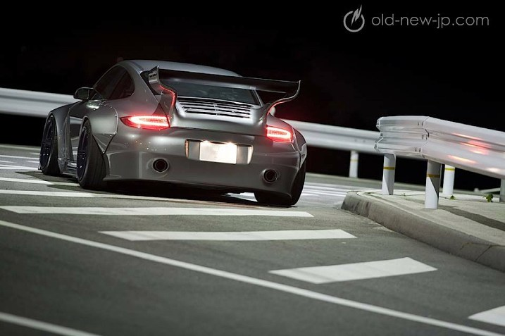 DLEDMV - Porsche 997 flat nose old & new - 10