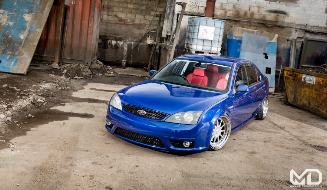 Slammed Ford Mondeo ST... Camouflage ! 15