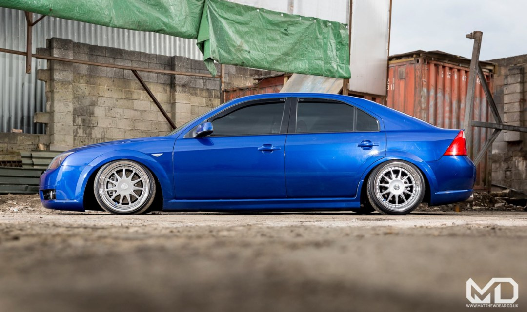 Slammed Ford Mondeo ST... Camouflage ! 17