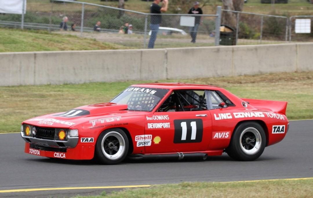 Bruce Gowans Toyota Celica - Avec un V8 Repco 26
