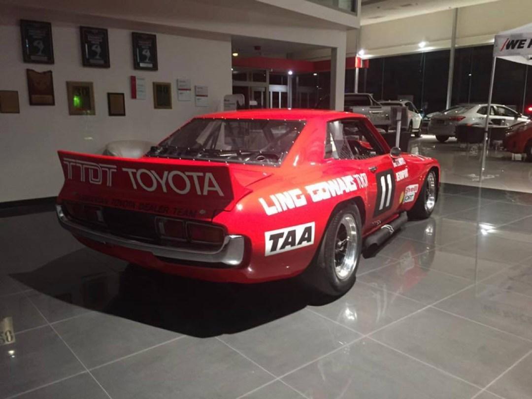 Bruce Gowans Toyota Celica - Avec un V8 Repco 30