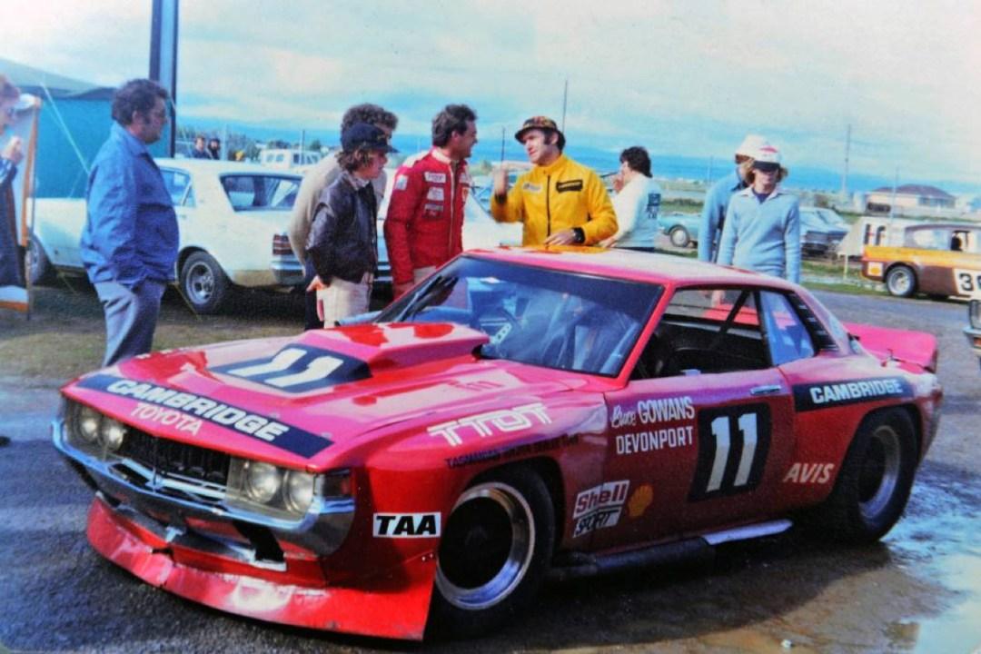 Bruce Gowans Toyota Celica - Avec un V8 Repco 32