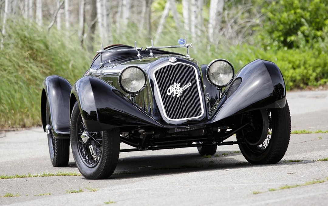 Alfa Romeo 6C 1750 SS Spider... Leggenda ! 13