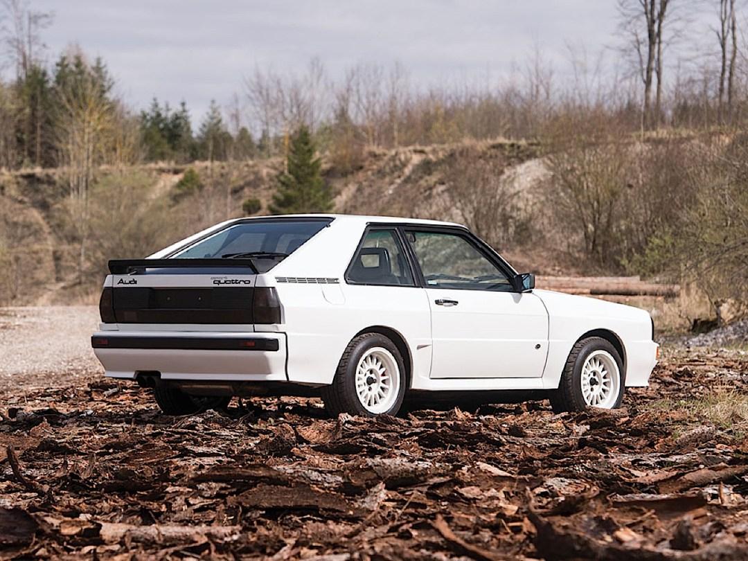 Audi Quattro Sport - Châssis court, turbo et muscu ! 107