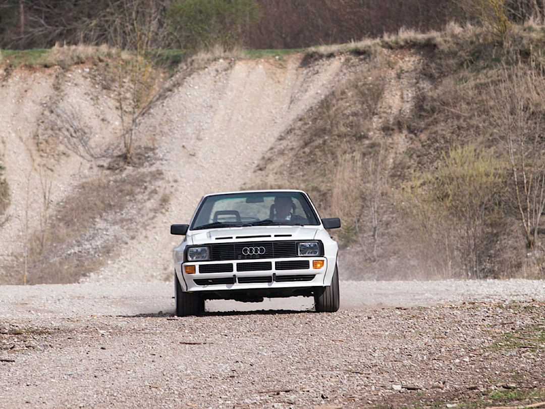 Audi Quattro Sport - Châssis court, turbo et muscu ! 97