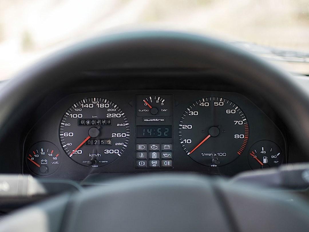 Audi Quattro Sport - Châssis court, turbo et muscu ! 99