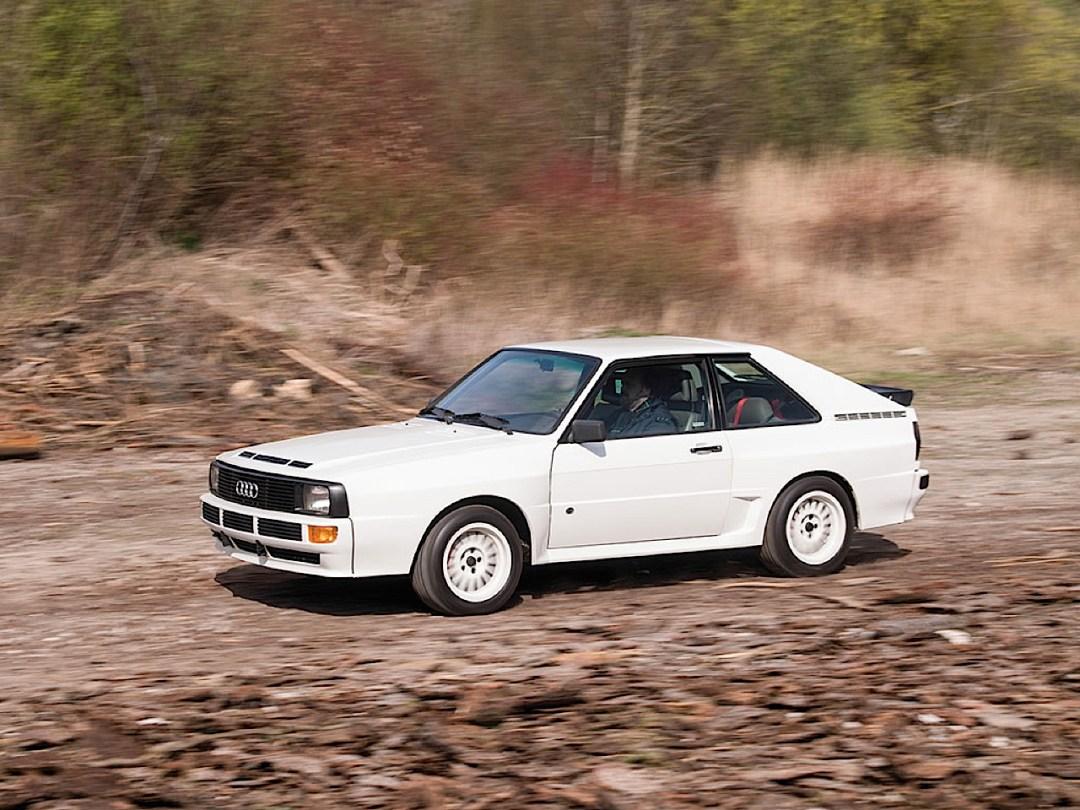 Audi Quattro Sport - Châssis court, turbo et muscu ! 82