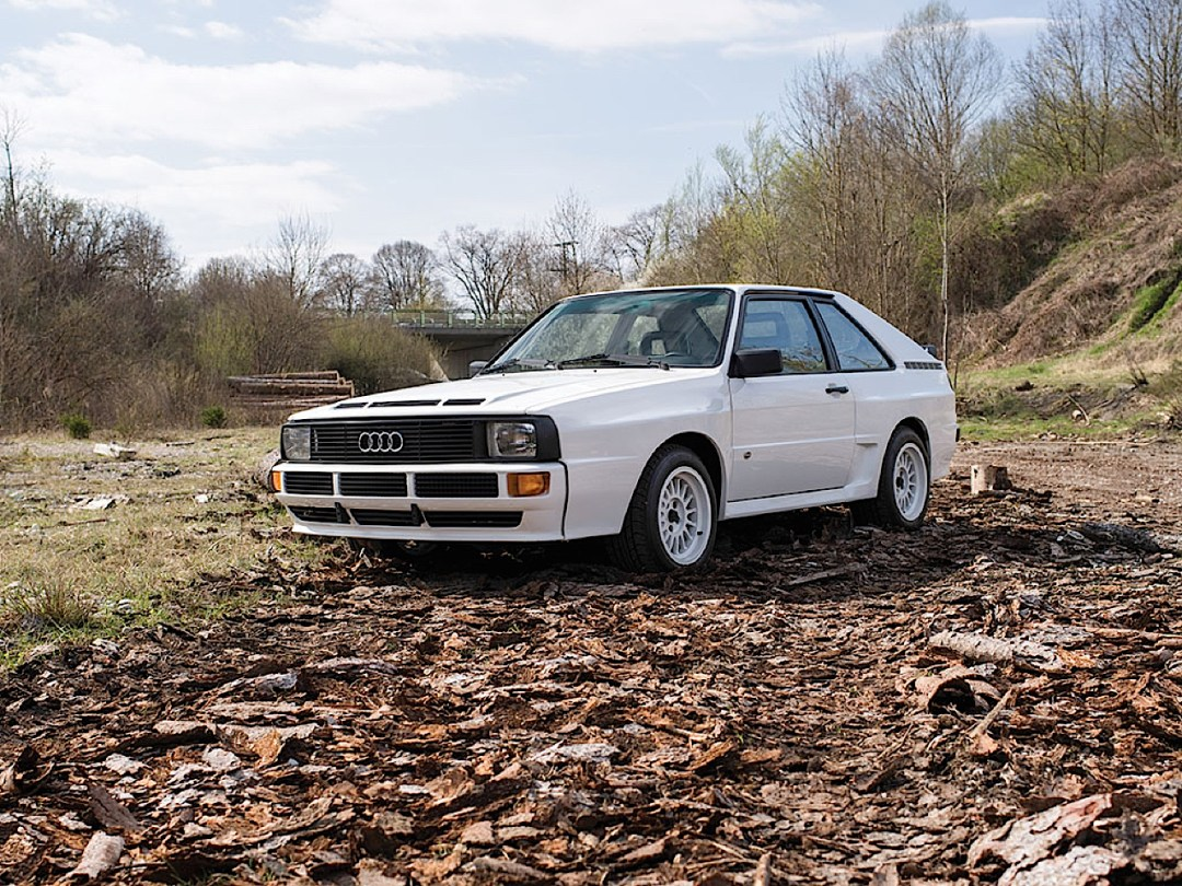 Audi Quattro Sport - Châssis court, turbo et muscu ! 76