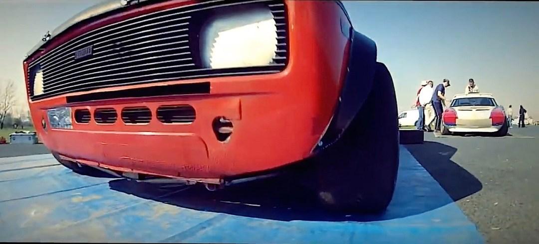 Fiat 128 Abarth - Slalom avec la caisse à mamie ! 9
