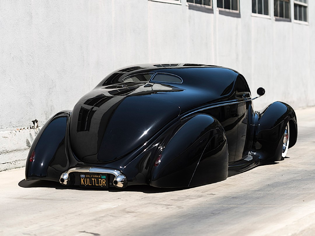 """'39 Lincoln Zephyr """"Scrape"""" - Même le custom a ses légendes ! 76"""