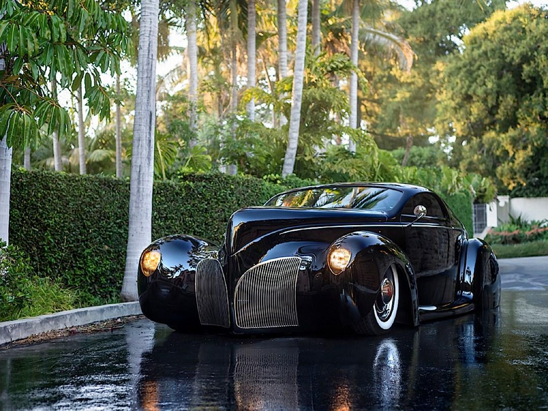 """'39 Lincoln Zephyr """"Scrape"""" - Même le custom a ses légendes ! 75"""