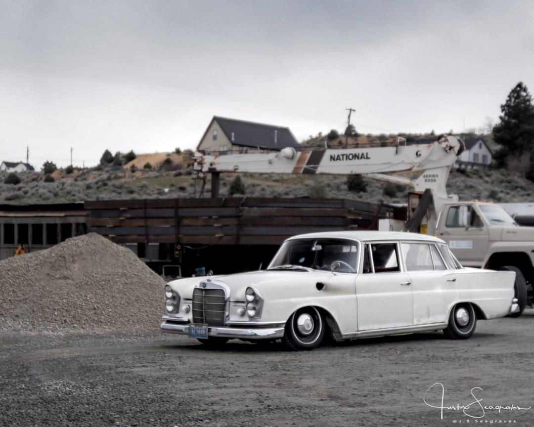 Mercedes W111 Sleeper... The Benzilla ! 26