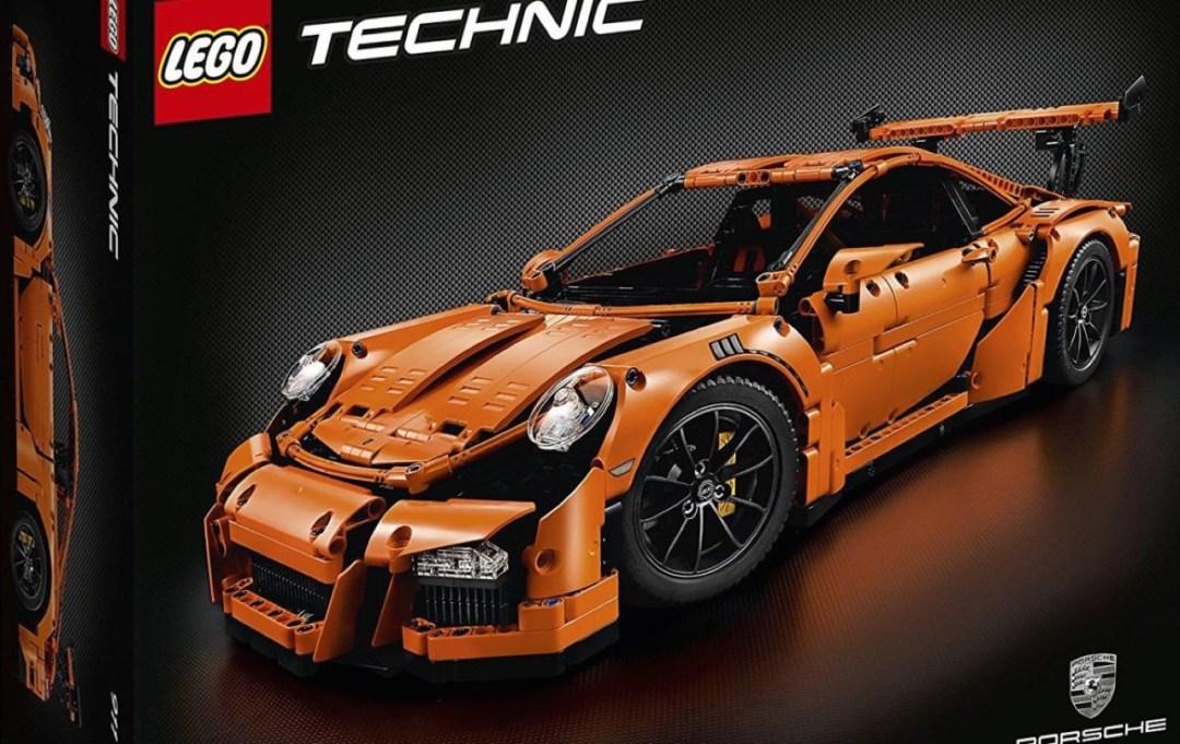 Porsche 991 Lego : Le crash test ! 14