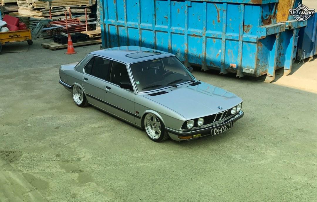 Bagged BMW E28 520i... Low & Flow ! 47