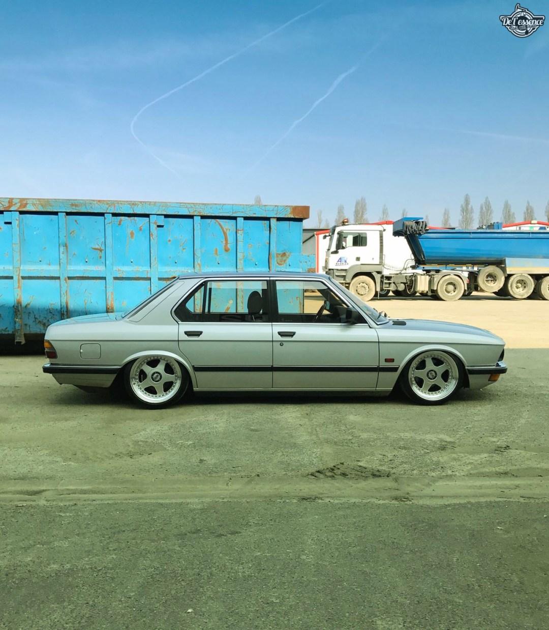 Bagged BMW E28 520i... Low & Flow ! 48