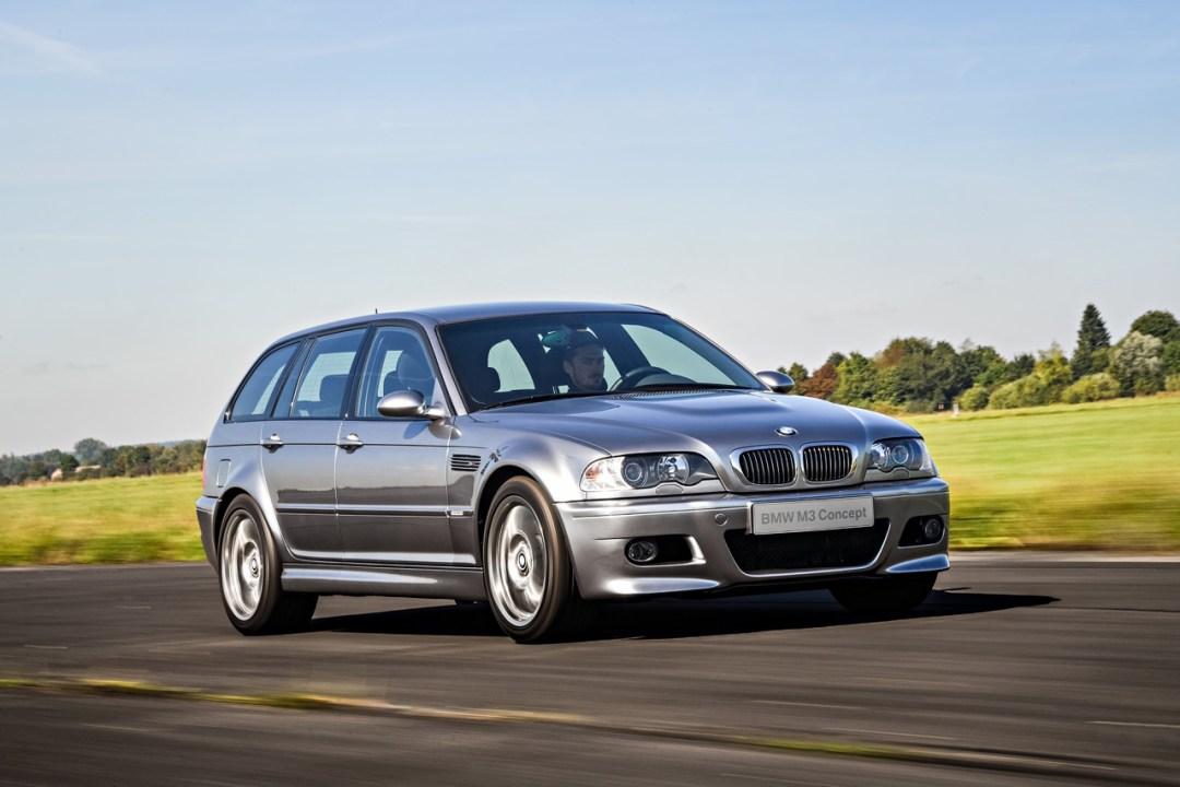 BMW M3 E46... touring ! Oui, elle existe... 31