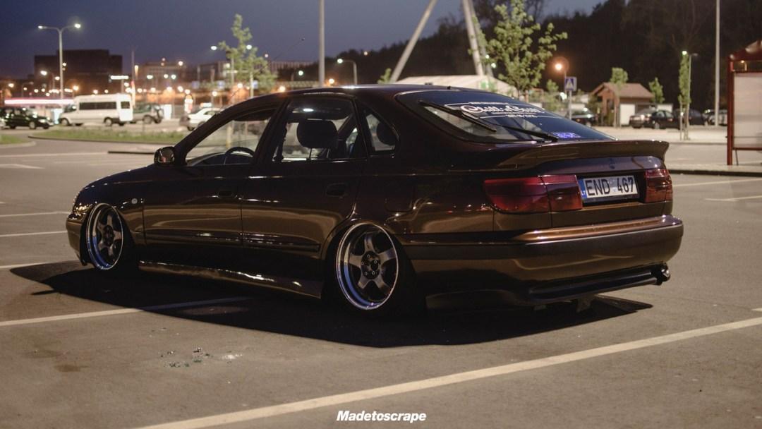 Bagged Toyota Carina E - Même les japs ont leurs beaufs ! 29