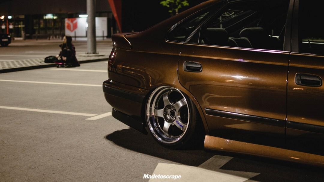 Bagged Toyota Carina E - Même les japs ont leurs beaufs ! 34