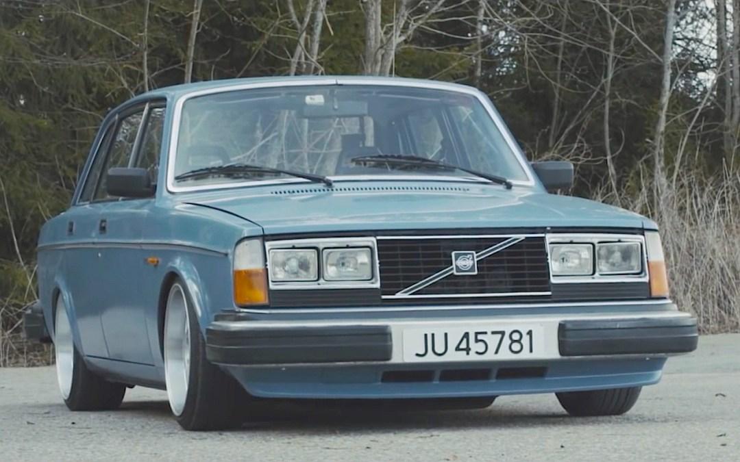 Slammed Volvo 240... Diesel mais belle... mais diesel ! 7