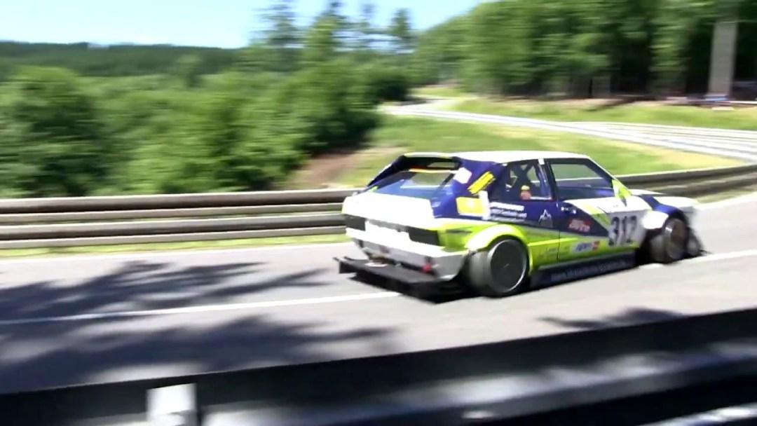 Hillclimb Monster : VW Scirocco STW - Ivresse à plus de 9000 trs ! 9