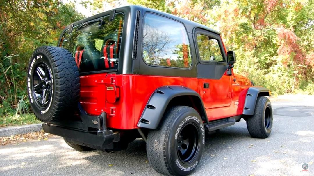Jeep Wrangler swap 2JZ - 2 cylindres en moins, 2 turbos en plus ! 26