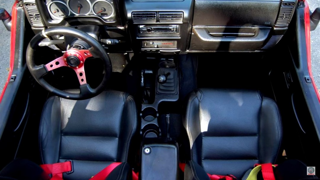 Jeep Wrangler swap 2JZ - 2 cylindres en moins, 2 turbos en plus ! 24