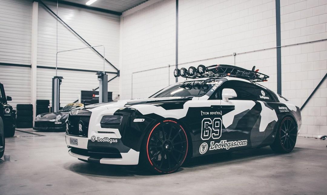 Rolls Royce Wraith 800+ - Jon Olsson à encore frappé ! 14