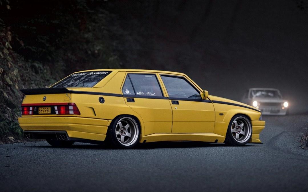 Alfa 75 Turbo America : Sale caractère ! 25