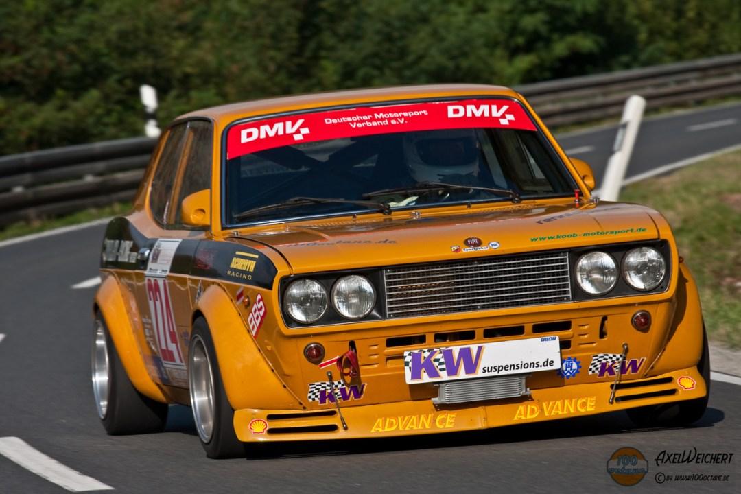 Hillclimb Monster : Fiat 128 coupé 8v - Pétard à mèche courte ! 14