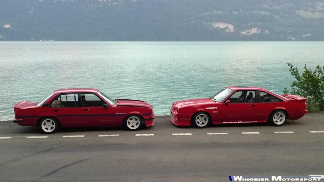 Opel Ascona B : Projekt W240... 23