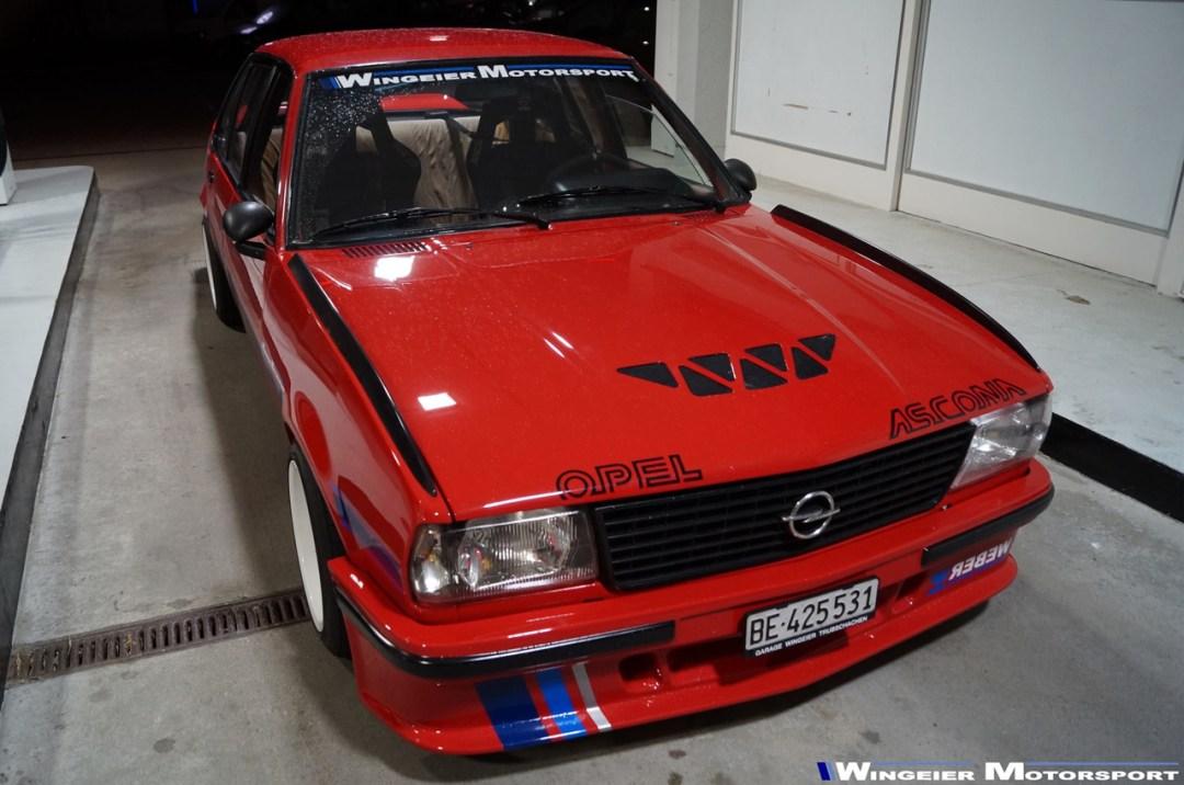 Opel Ascona B : Projekt W240... 29