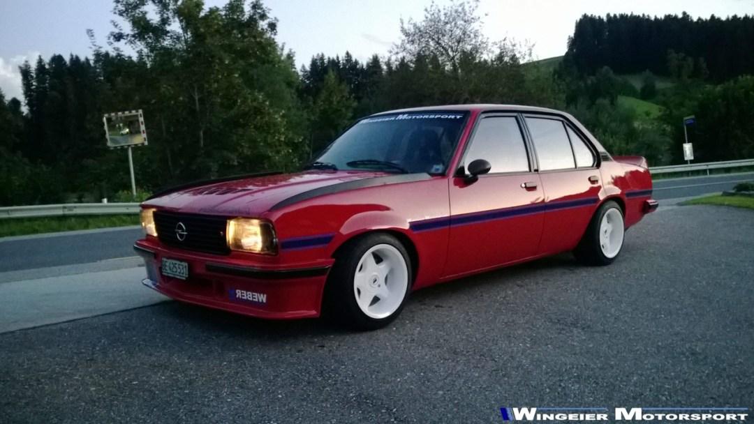 Opel Ascona B : Projekt W240... 28