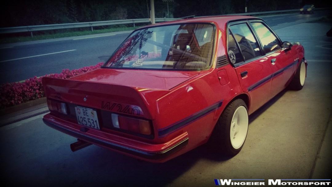 Opel Ascona B : Projekt W240... 30
