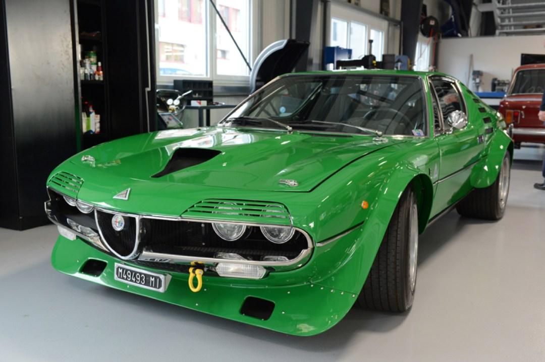 Alfa Romeo Montreal Gr4... La Diva en mode Hard Rock ! 26