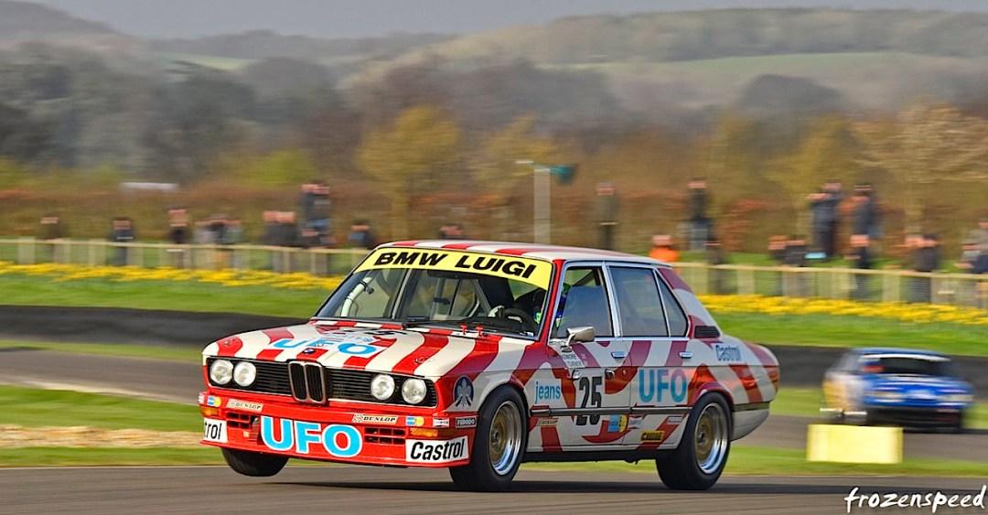 Engine Sound : Nick Padmore's BMW 530i - Tempête à Goodwood ! 10