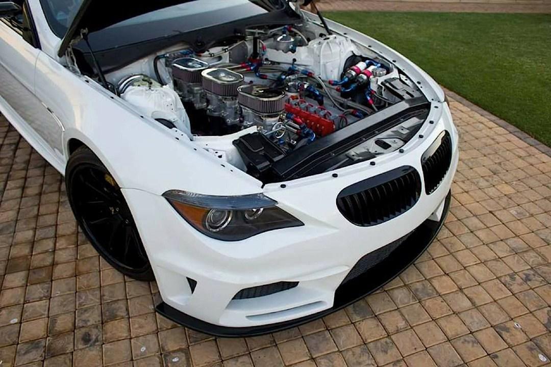 BMW M6 E63... Avec 6 Rotors à la place du V10 ! 54
