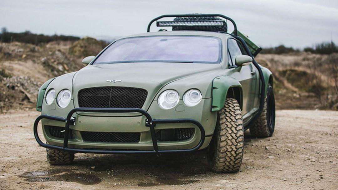 Du Zombie Crush en Bentley Continental GT... 17