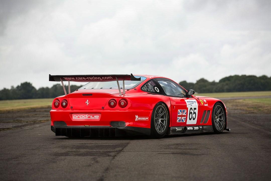 La Ferrari 550 Maranello GTS de Colin McRae... 18
